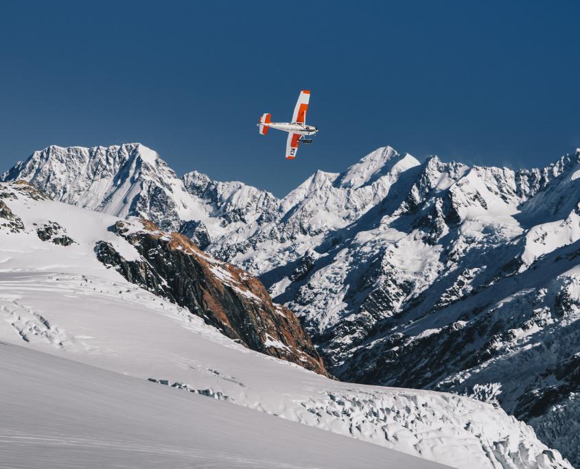 Ski Plane Mount Cook