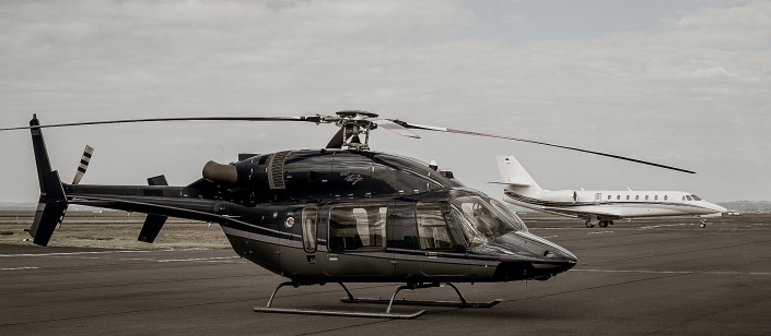 Image of the INFLITE Charters Bell 427 Helicopter