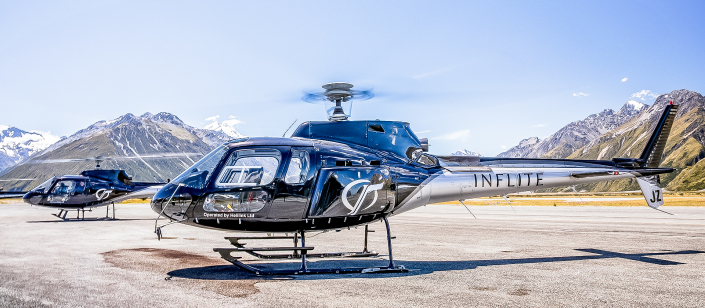 INFLITE Charters Private Helicopters
