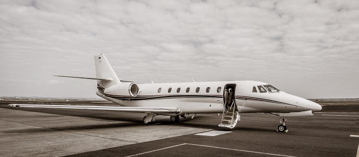 INFLITE Charters Private Jet at Auckland Airport